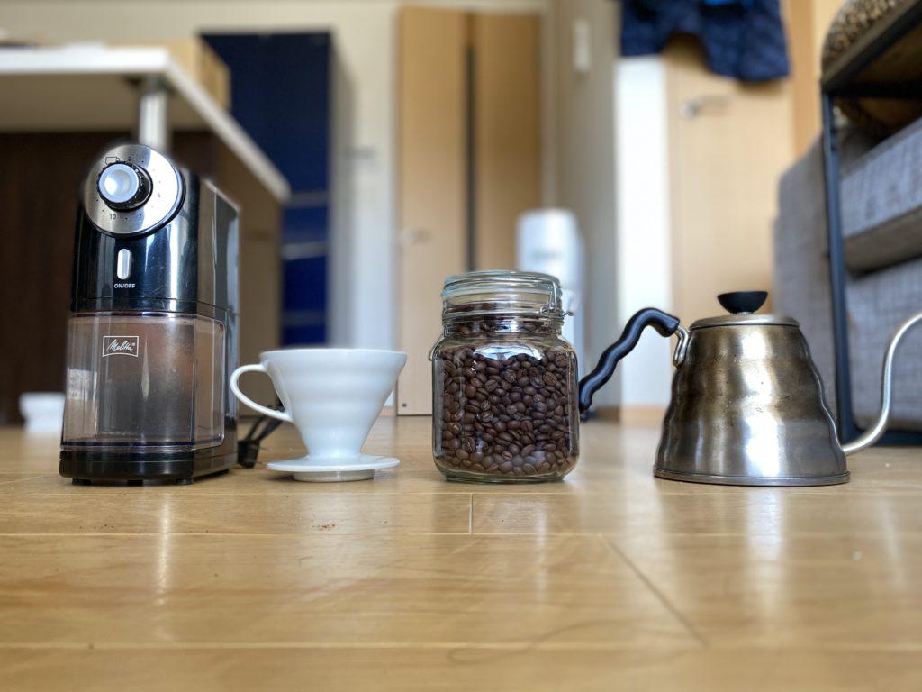 「自宅でおいしいコーヒー」はじめに揃えるべき6つのアイテム
